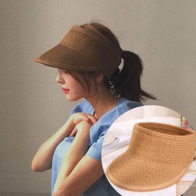 카푸치노 여성 라탄모자 밀짚모자 썬캡