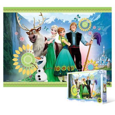 200피스 직소퍼즐 - 겨울왕국 봄의 소리 (큰조각)