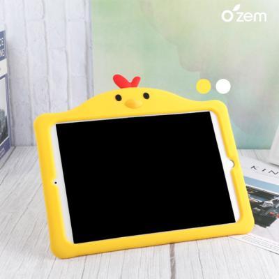 오젬 아이패드7세대 10.2 꼬꼬닭 캐릭터 실리콘케이스