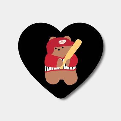 black baseball gummy 하트톡♥