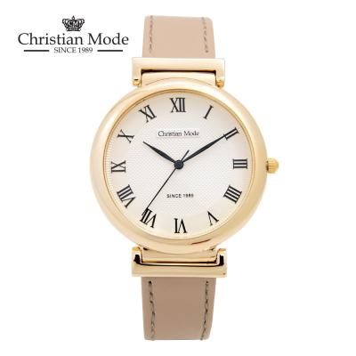 크리스챤모드 커플 가죽 시계 (남성용)
