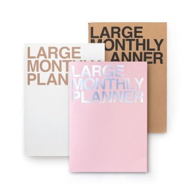 라지먼슬리 플래너 -핑크