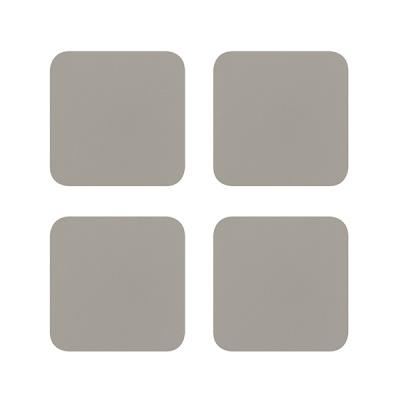 소이믹스 코테 가죽 티코스터 사각 4P 세트 LOF3S