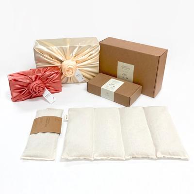 더진심 눈+복부 현미찜질팩 선물세트(보자기포장)
