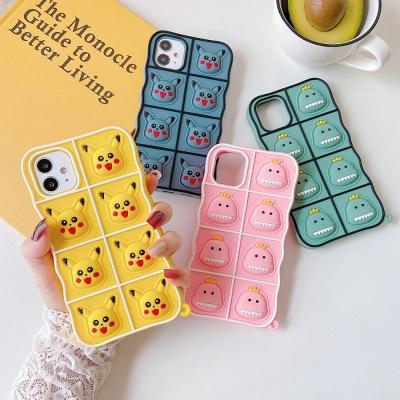 아이폰 12 pro max 캐릭터 공룡 실리콘 팝잇 케이스