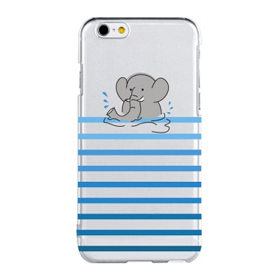 Stripe Elephant For Clearcase(아이폰케이스)