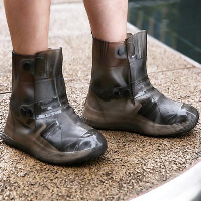 비닐 슈즈 장마 방수 신발 커버 덧신 장화 레인부츠