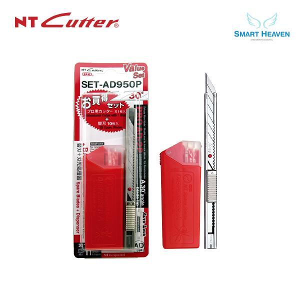 NT커터 SET-AD950P 소형 30도 커터칼세트