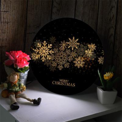 nd487-LED액자25R_크리스마스금빛눈송이_LED사인