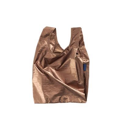 [바쿠백] 베이비 에코백 장바구니 Copper Metallic