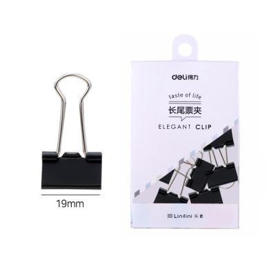 DELI 더블클립 5호 (19mm) 블랙 (9545BK)