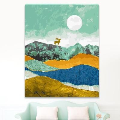 DIY 명화그리기 [ 행복을 부르는 사슴 ] - 40cm*50cm