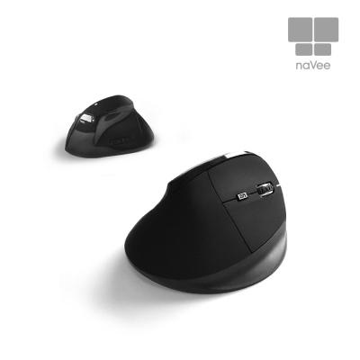 나비 naVee 버티컬 무소음 무선마우스 NV72-VMS10G