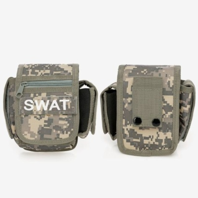 군인 보조 허리 밸트 파우치 (ACU) 힙색가방