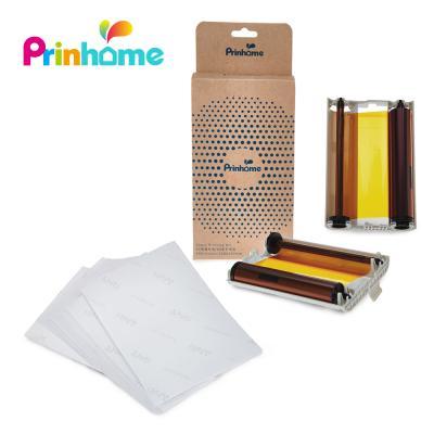 프린홈 포토프린터 전용 인화지 120매/포토인화지/용지(카트리지 포함)