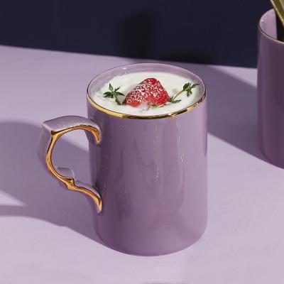 [J TABLE]플레르 24K골드 실루엣 머그(4color)