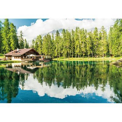 1000피스 직소퍼즐 - 돌로미티 카레짜 호수