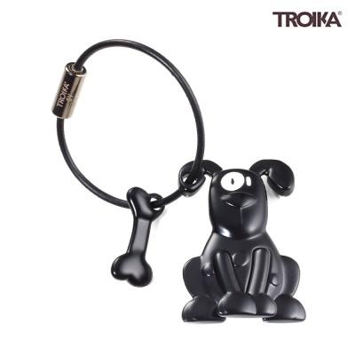 [트로이카] PETE 강아지 키홀더 블랙 (KR10-21/BK)