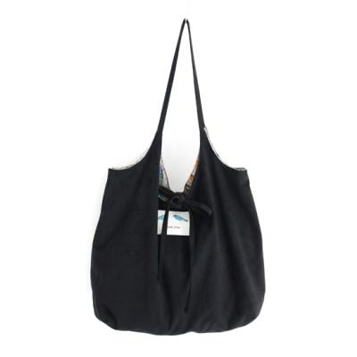 [베네]라이트 스웨이드 양면 가방