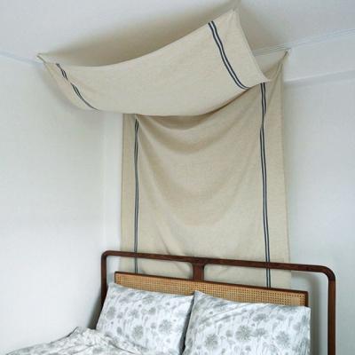 블랭크 햄프린넨 침대 캐노피 (RM 303001)