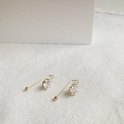 14k big drop piercing - 낱개
