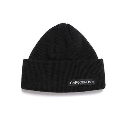 CB LOGO SHORT BEANIE (BLACK) 모자 비니