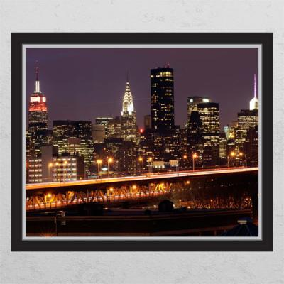 il414-맨해튼의밤_창문그림액자