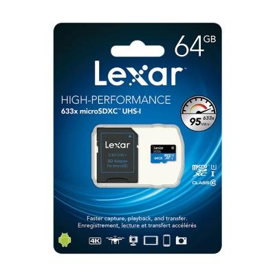 렉사 정품 MicroSD카드 633배속 64GB