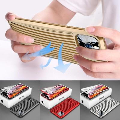 아이폰XR XS MAX 캐리어 메탈 자석 풀커버 하드케이스