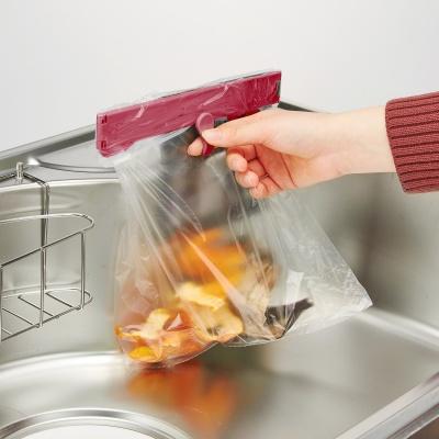 [와이즈홀더 3L 레드와인] 음식물쓰레기 봉투 거치대