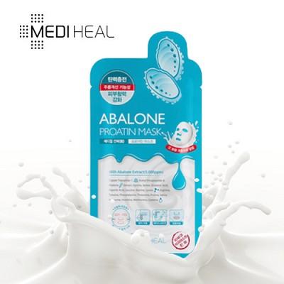 [메디힐]  탄력광 전복 프로아틴 마스크팩 1매 / 수분가득 단백질 마스크