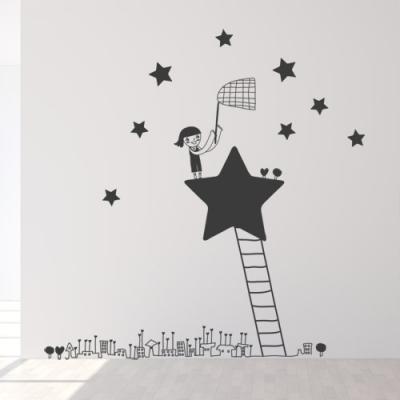 ic161-별을모으는소녀_그래픽스티커