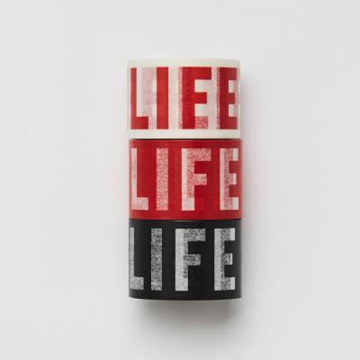 LIFE LOGO MASKING TAPE_30mm