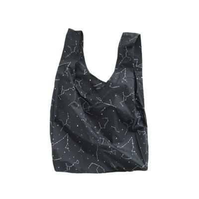 [바쿠백] 장바구니 시장가방 Black Constellation