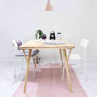 벤트리 원목 라인 테이블 140