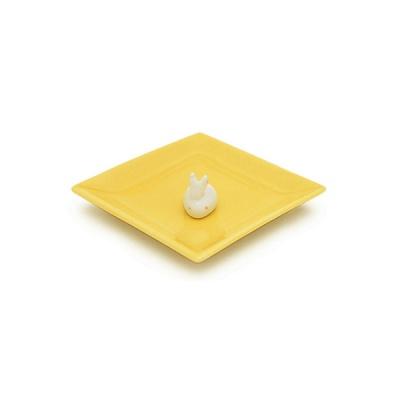 인센스 홀더(향꽂이) 사각향꽂이 (노랑토끼) 97525