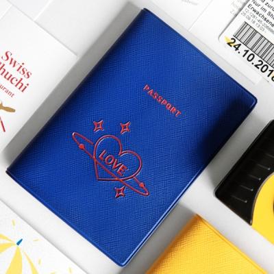 트래블러 여권 케이스 - LOVE