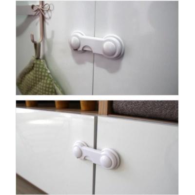 도어락 2개입 원형 안전장치 서랍잠금 유아안전용품
