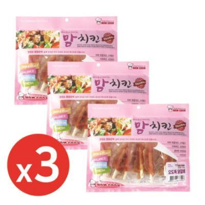 맘쿡(300g) 오도독미니닭갈비 x3개 강아지간식