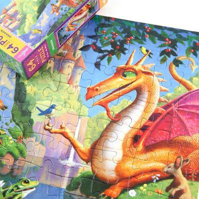드래곤 64피스 퍼즐 5세이상