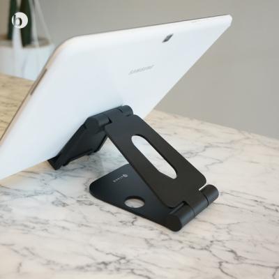 위시비 M100 모바일 태블릿 알루미늄 2중 접이거치대