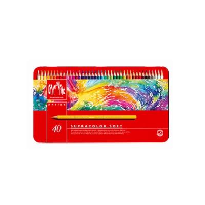 까렌다쉬 수채용-수프라컬러 40색 메탈박스 3888.340