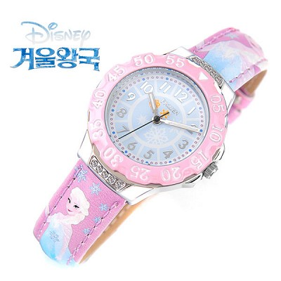 [Disney] 디즈니 겨울왕국 엘사-1 캐릭터 아동용 시계 [본사정품]