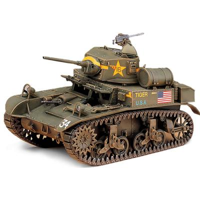 HOBBY MODEL KITS 미군 M3A1 스튜어트 경전차 탱크