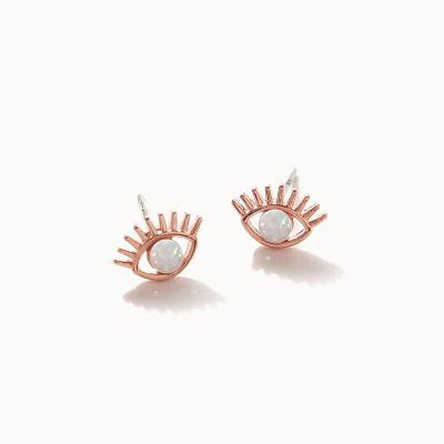제이로렌 0M02912 이블아이 10월탄생석 오팔 귀걸이