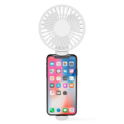 아이정 M-fan 휴대용 손선풍기 탁상형 거치형 화이트