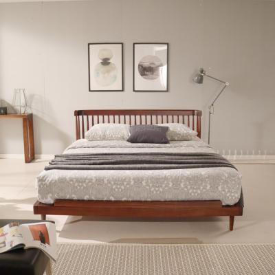 단델리 장미나무 엔틱 침대 K
