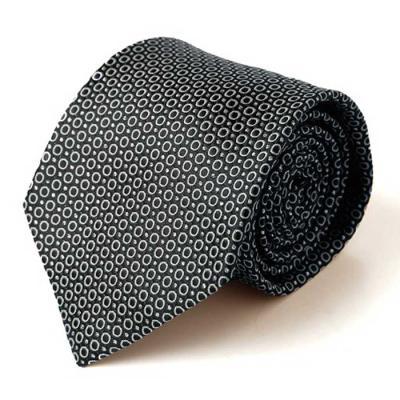 Hombre negro ring dot 수동 넥타이 CH1623667