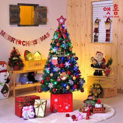 앳홈 에밀리쉬컬러 크리스마스 트리 160cm