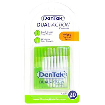 덴텍 더블액션 치간칫솔 마이크로(0.4mm) 20개 1165